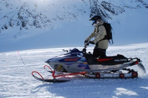 Snowmachine Denali Highyway, Cantwell, Alpine Creek Lodge |